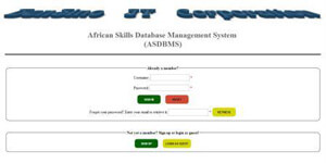 African Skills Database Management System